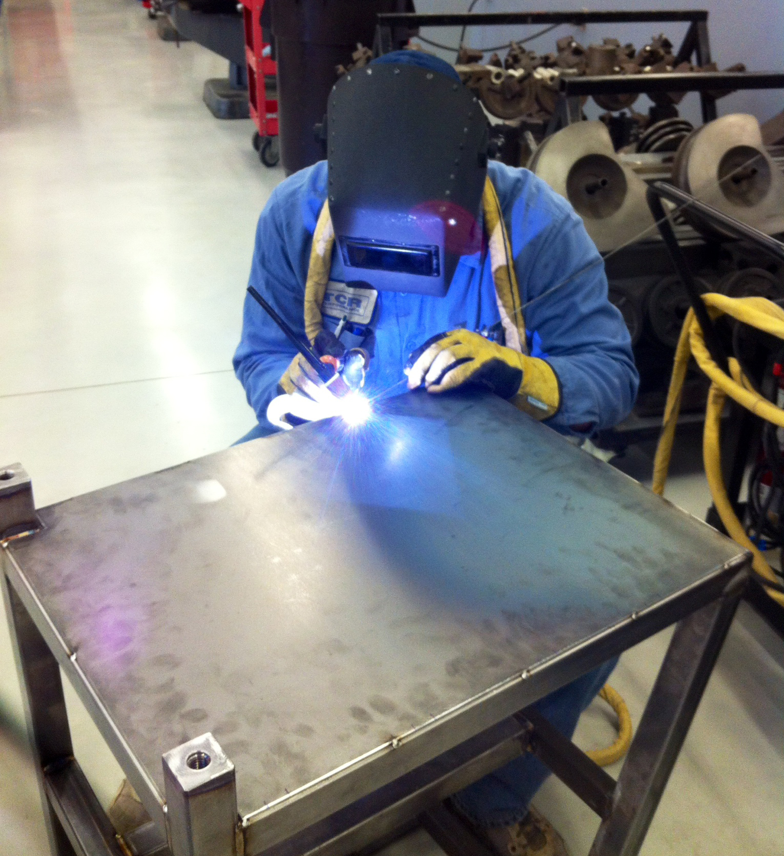 Welding Fabrication Tcr Performance